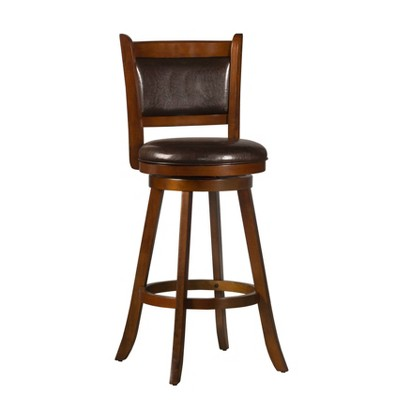Dennery Barstool Cherry Red - Hillsdale Furniture