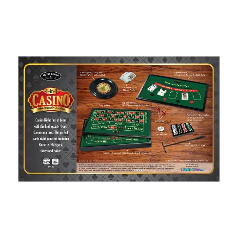 Front Porch Classics 4 In 1 Casino Roulette Target