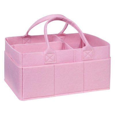 Trend Lab Felt Storage Caddy - Ice Pink
