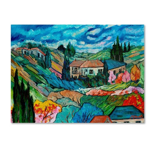 'Valley House' by Manor Shadian Ready to Hang Canvas Wall Art - image 1 of 3