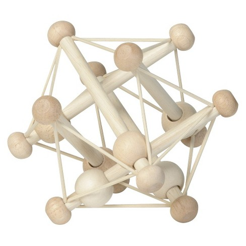 The Manhattan Toy Company Skwish Rattle - Natural - image 1 of 3