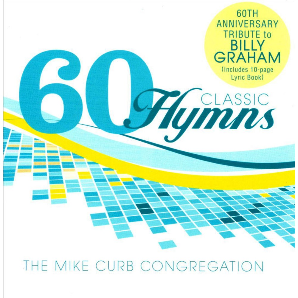 Mike Congregat Curb - 60 Classic Hymns:60th Anniversary Tri (CD)
