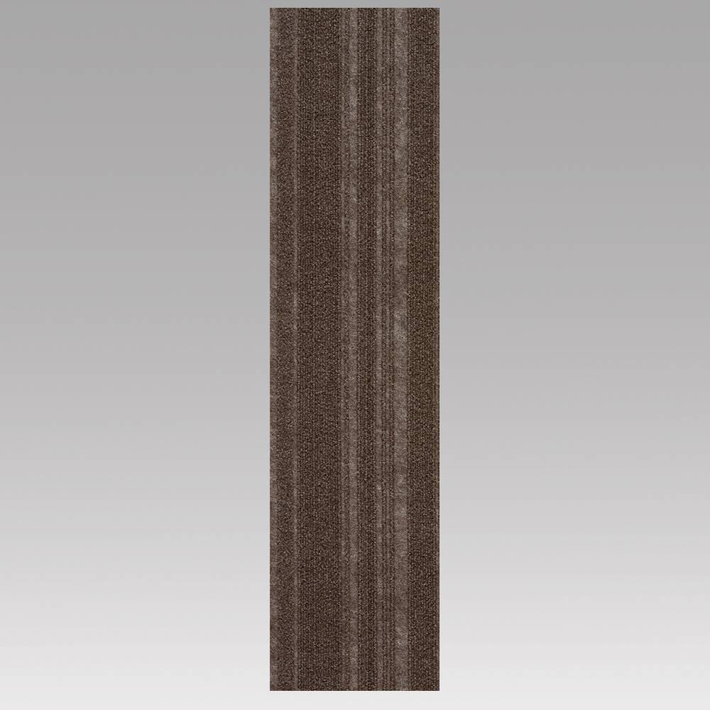 9x36 16pk Self Stick Carpet Tiles Espresso - Foss Floors Top