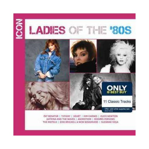 Various - Icon: Ladies Of The '80s (CD) - image 1 of 1