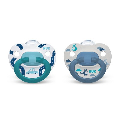 NUK Assorted Pacifier Size 18-36 months - 2pk