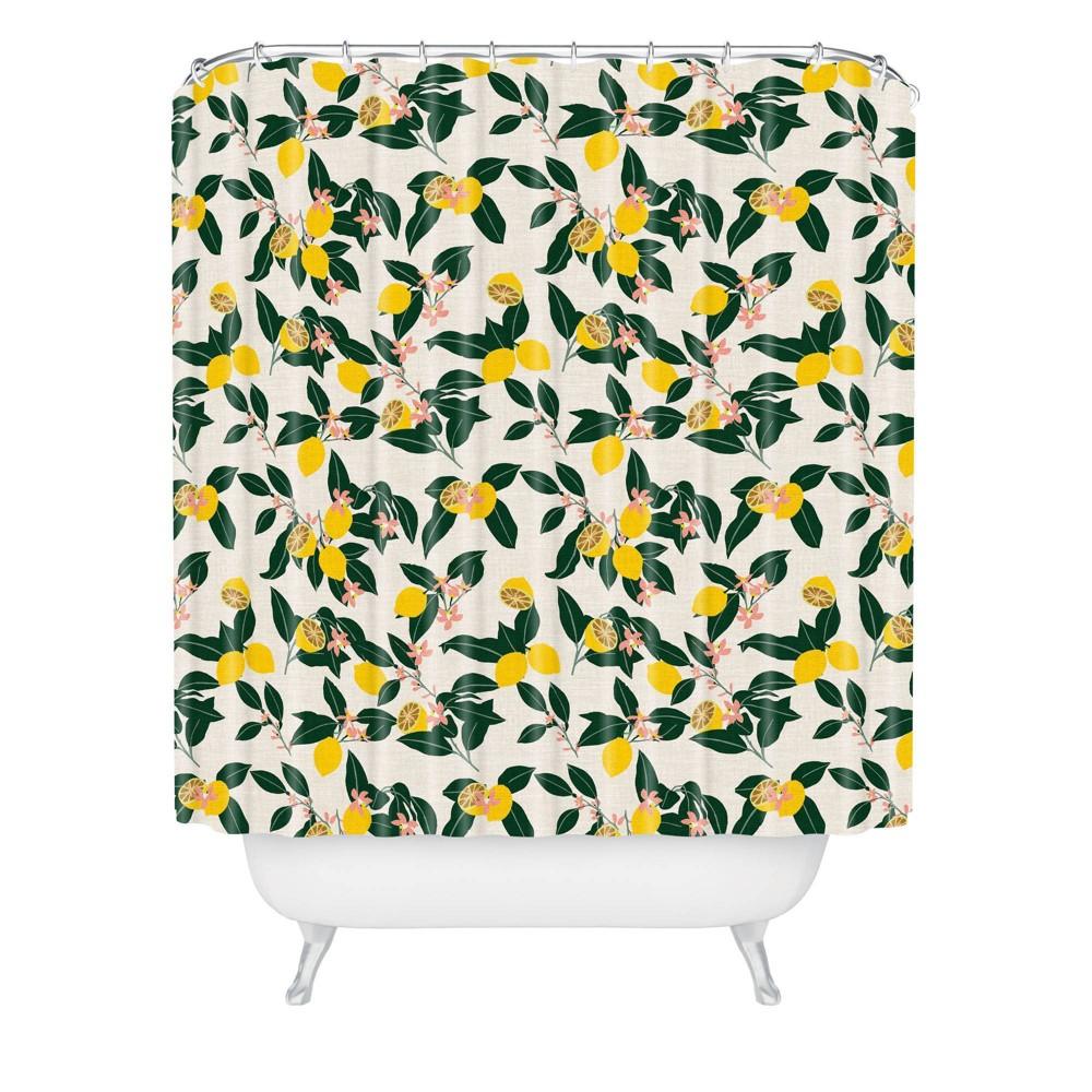 Holli Zollinger Lemony Shower Curtain - Deny Designs Buy
