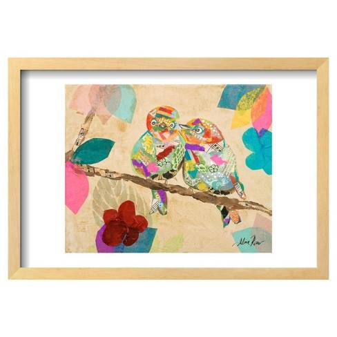 "Band of Birds I By Gina Ritter Framed Poster 19""X13"" - Art.Com - image 1 of 4"