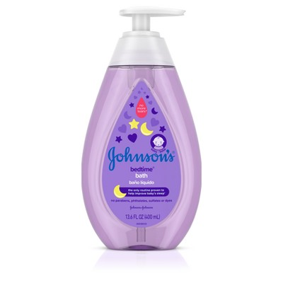 Johnson's Bedtime Bath - 13.6oz