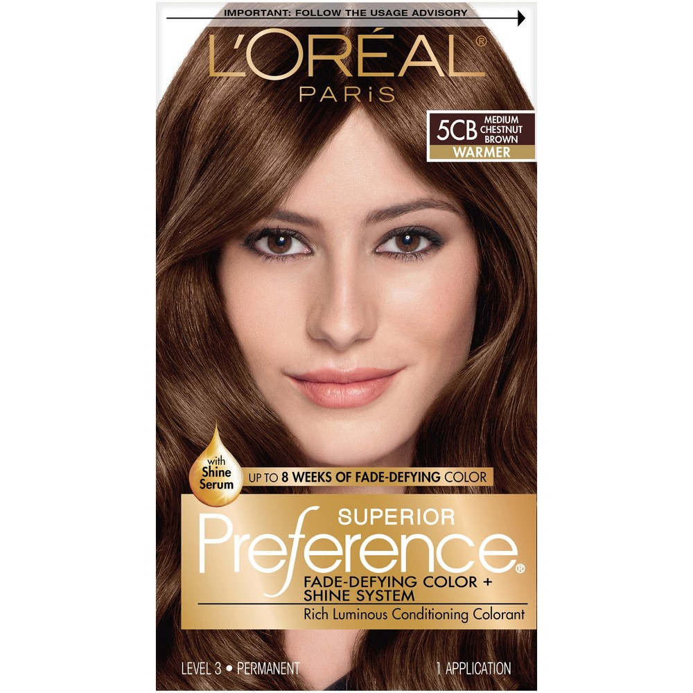 L Oreal Superior Preference Hair Color Chart Hair Color Compare