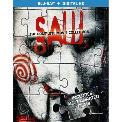 Saw: The Complete Movie Collection [3 Discs] [Blu-ray]