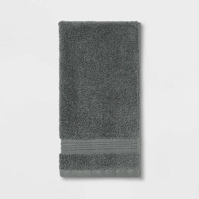 Spa Hand Towel Dark Gray - Threshold Signature™