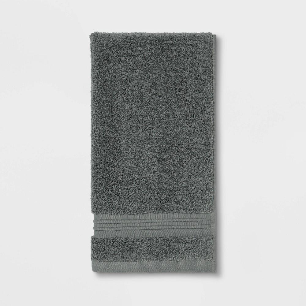 Spa Hand Towel Dark Gray - Threshold Signature Buy