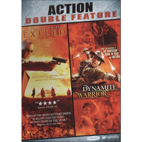 Exiled / Dynamite Warrior (DVD)(2010) - image 1 of 1