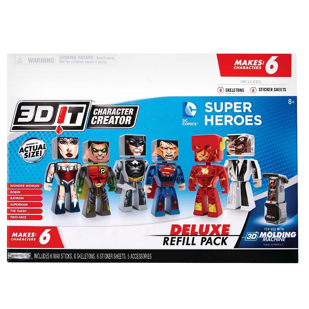 Image of 3DIT DC Comics Deluxe Refills