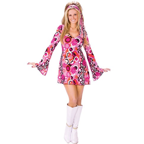 Women's Feelin' Groovy Costume - image 1 of 1