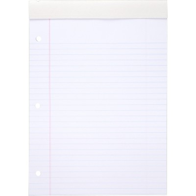 "Mead Legal Pad Wide Rule 70 Sheets 8-1/2""x11"" White 59872"