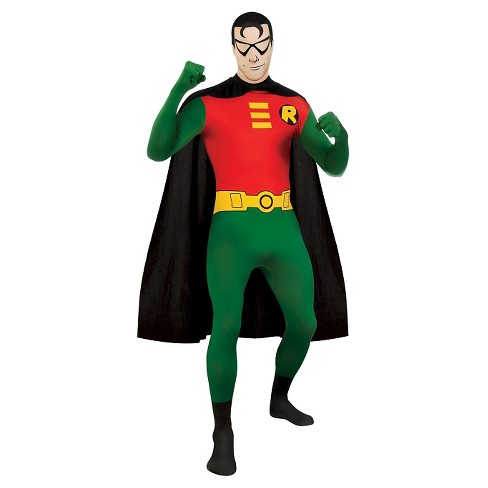 Men's DC Comics Robin Skin Suit Costume - One Size Fits Most - image 1 of 1