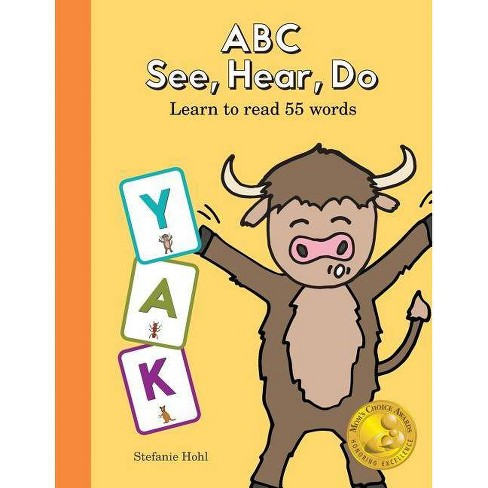 ABC See, Hear, Do - by  Stefanie Hohl (Paperback) - image 1 of 1