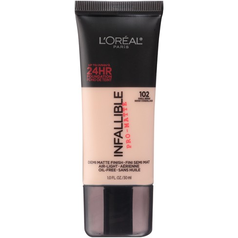 L'Oreal® Paris Infallible Matte Foundation - Light Shades - 1.0 fl oz - image 1 of 4