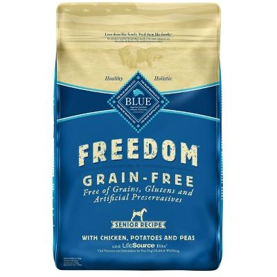 Dog Food: Blue Buffalo Freedom Senior