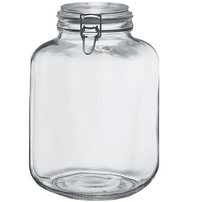 Amici Home Italian Hermetic Glass Canisters, 145oz, Set of 2