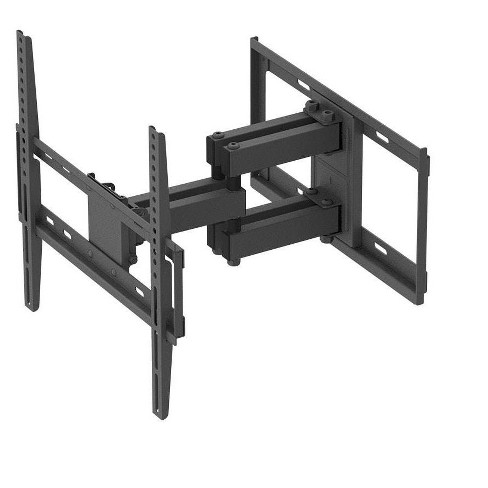 "Titan Series Full Motion Dual Stud Single Arm Wall Mount For Medium Up to 55"" Inch TVs Displays, Max 99 LBS. 200x200 to 400x400, Black - image 1 of 4"