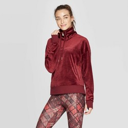 Women's Velour Quarter Zip Pullover - C9 Champion®