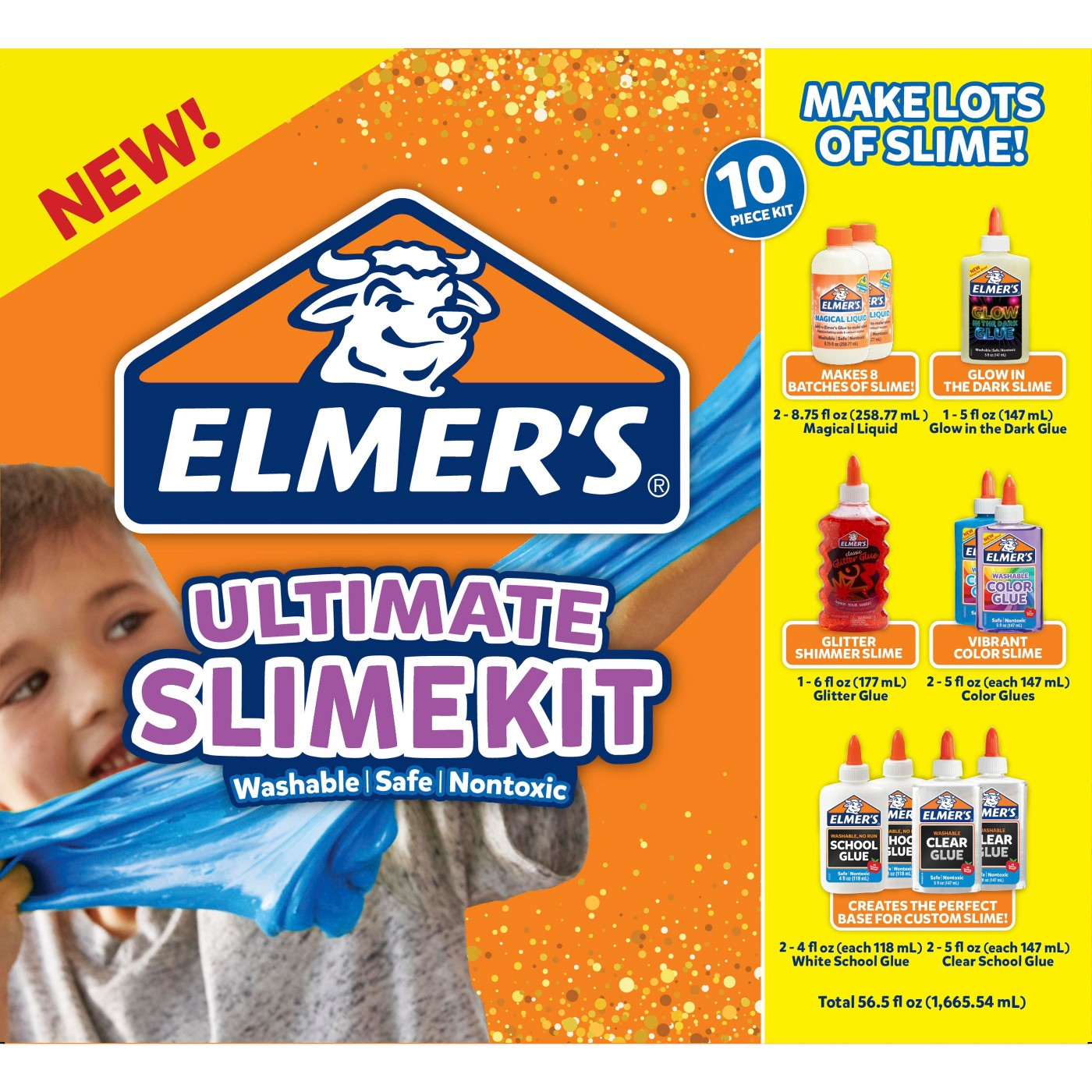 Elmer's 10ct Ultimate Slime Kit - image 1 of 6