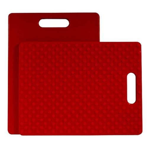 Architec 14 x 11 Inch Non-Slip Plastic Cutting Board with Handle