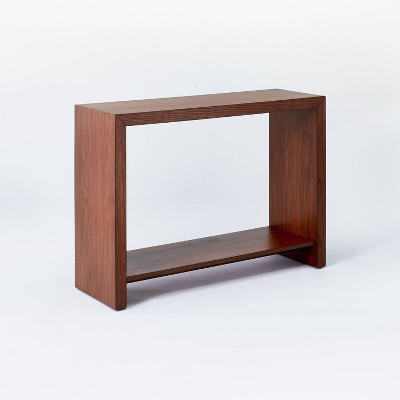 Fullerton Wood Console Table with Shelf Brown - Threshold™ designed with Studio McGee