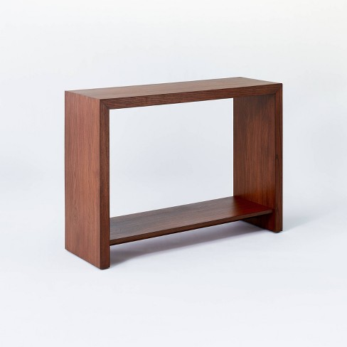 Fullerton Wood Console Table with Shelf Brown - Threshold™ designed with Studio McGee - image 1 of 4