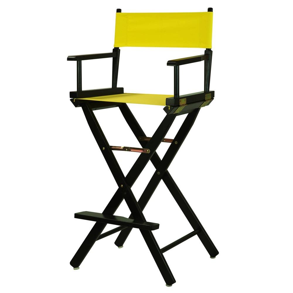 Yellow Bar Height Director S Chair
