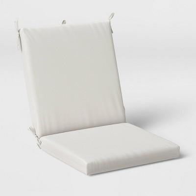 Woven Outdoor Chair Cushion DuraSeason Fabric™ Linen - Threshold™