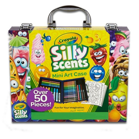 Crayola Silly Scents Mini Art Case 52pc - image 1 of 4