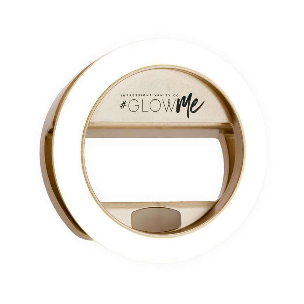 Image of Impressions Vanity GlowMe 2.0 LED Selfie Ring Light - Champagne Gold, Beige Gold
