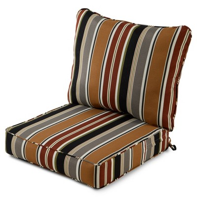 2pc Outdoor Deep Seat Cushion Set - Kensington Garden