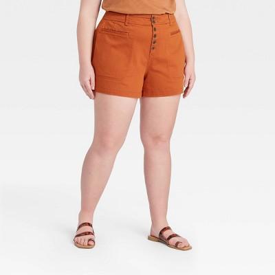 Women's Plus Size Shorts - Ava & Viv™