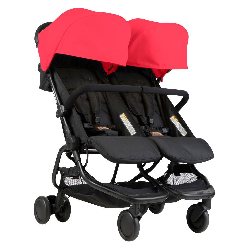 Mountain Buggy Nano Duo Stroller - Ruby (Red)