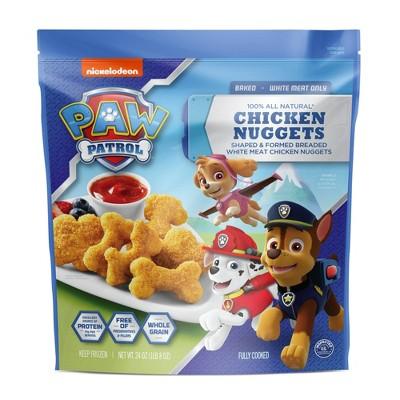 Nickelodeon PAW Patrol Chicken Nuggets - Frozen - 24oz