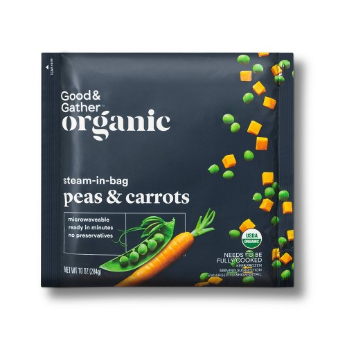 Organic Frozen Peas and Carrots - 10oz - Good & Gather™ - image 1 of 2