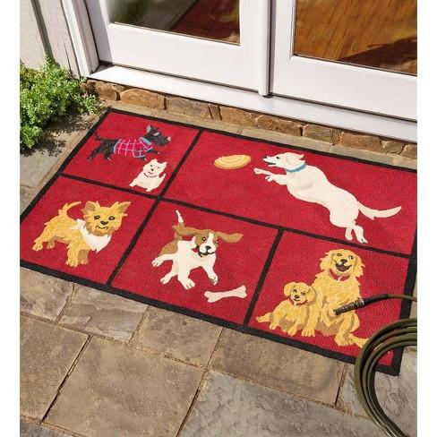 Dog Park Indoor Outdoor Accent Rug Plow Hearth Target