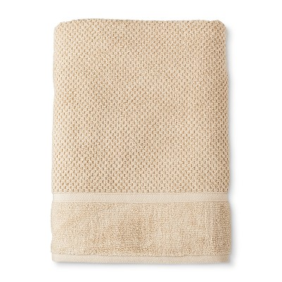 Bath Sheet Performance Texture Bath Towels And Washcloths Bare Canvas - Threshold™