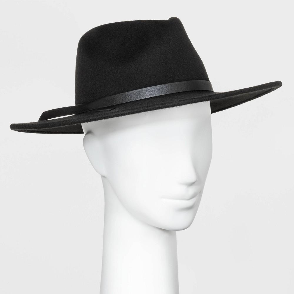 Reviews Women' Wide Brim Felt Fedora Hat - Univeral Thread™