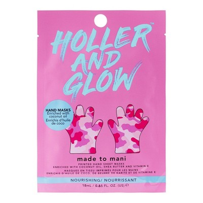 Holler and Glow Printed Hand Mask