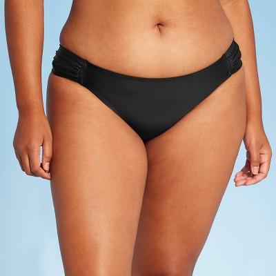 Juniors' Tab Hipster Bikini Bottom - Xhilaration™ Black