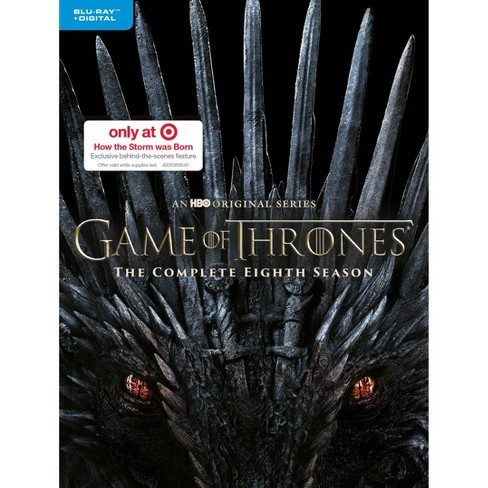 Game of Thrones: The Complete Eighth Season (Target Exclusive) (Blu-Ray + Digital) - image 1 of 2
