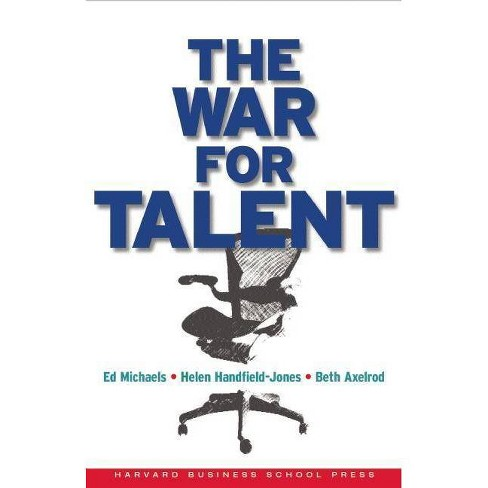 The War for Talent - by  Ed Michaels & Helen Handfield-Jones & Beth Axelrod (Hardcover) - image 1 of 1