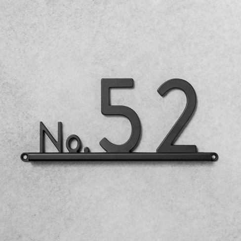 House Number Channel Bracket - Hearth & Hand™ with Magnolia - image 1 of 3