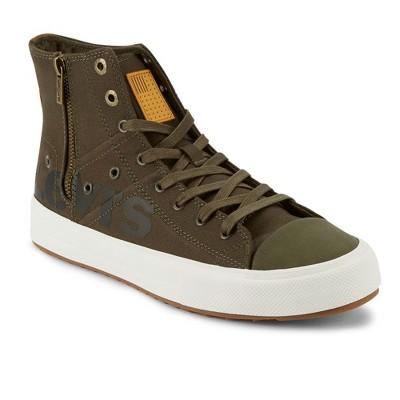 Levi's Mens Zip Ex Casual Mid-Top Fashion Zipper Sneaker Shoe
