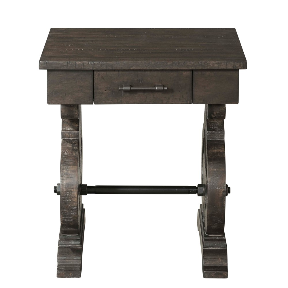 Stanford Chair Side Table Dark Ash - Picket House Furnishings